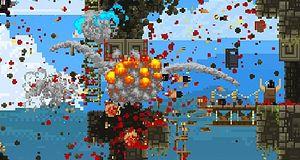 Eksplosive pikseldrap i Broforce