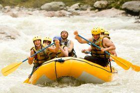 Andre foretrekker en mer aktiv ferieaktivitet.