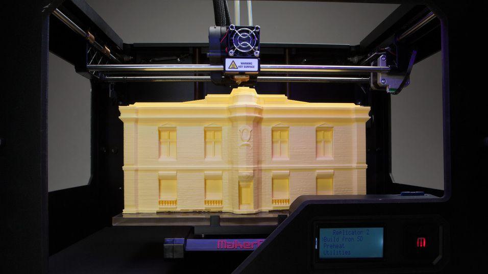 Windows 8.1 får full støtte for 3D-printere.