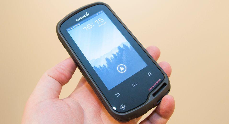 Garmin Monterra er noe så sprøtt som en frilufts-GPS med Android. Det gir nye muligheter, men vi skulle gjerne ønsket oss et SIM-kort for datatrafikk og nødsamtaler.