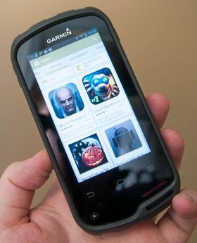 Siden dette er en Android-enhet kan du laste ned apper de appene du vil fra Google Play.