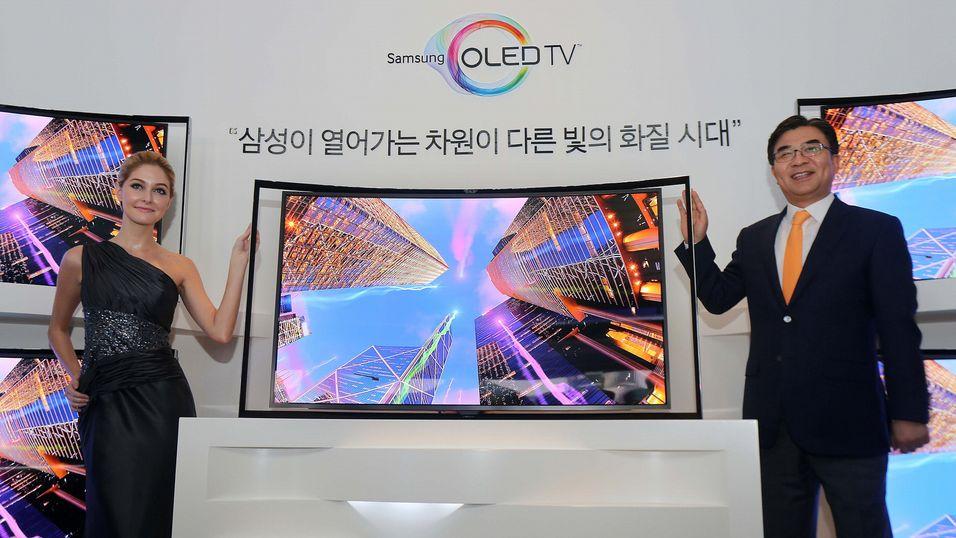 Dette er en eldre OLED-modell fra Samsung. Nå kan det virke som de er i ferd med å lage nye.