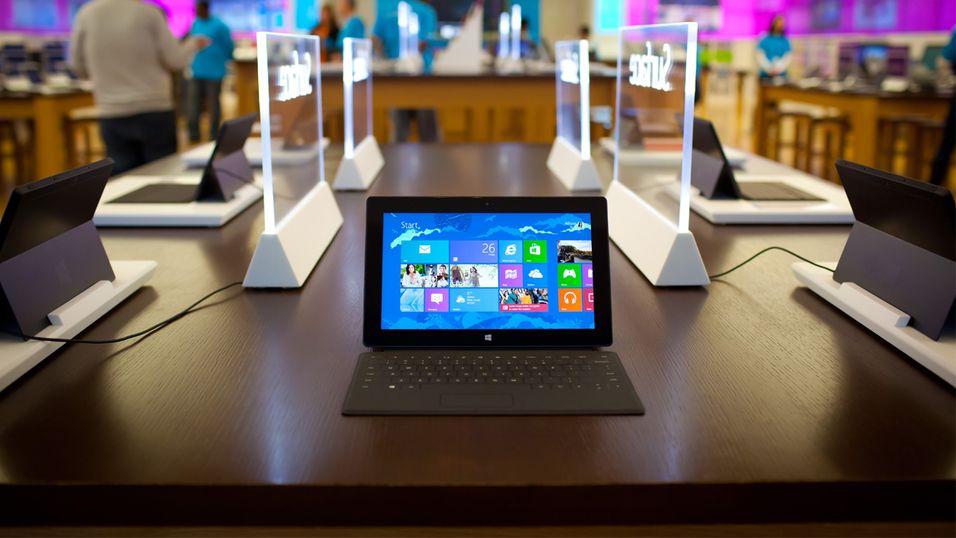 Microsoft hinter til nettbrett med kjempeoppløsning