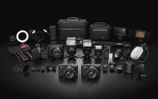 RX1 med masse utstyr.