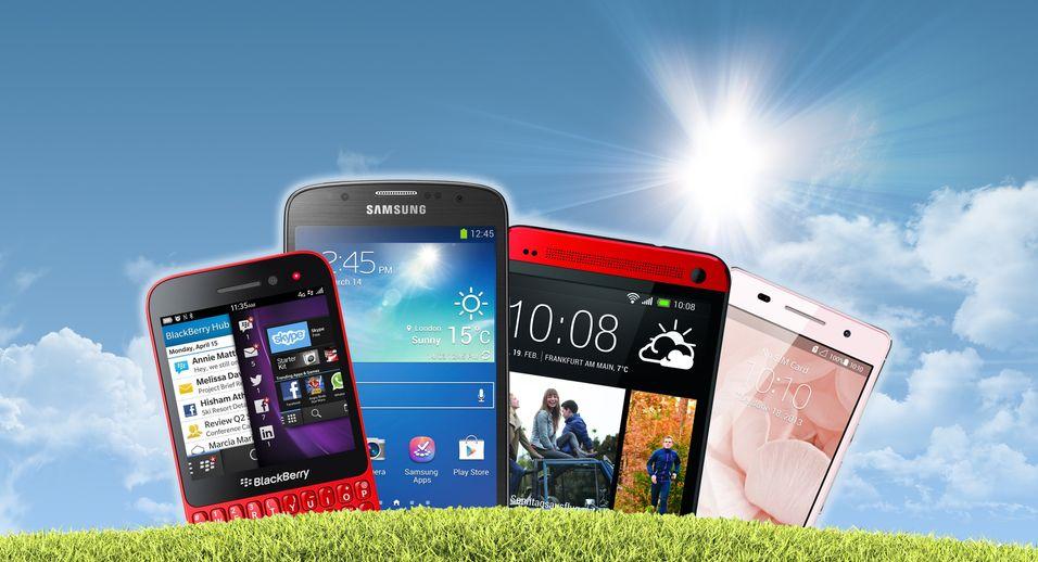 Etter uvanlig hektisk lanseringsvår bugner det av nye mobiler når vi går inn i juli.