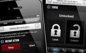 Volvo har en app som lar deg slå på varmeapparatet, låse dører eller sjekke bensinnivået fra mobilen.