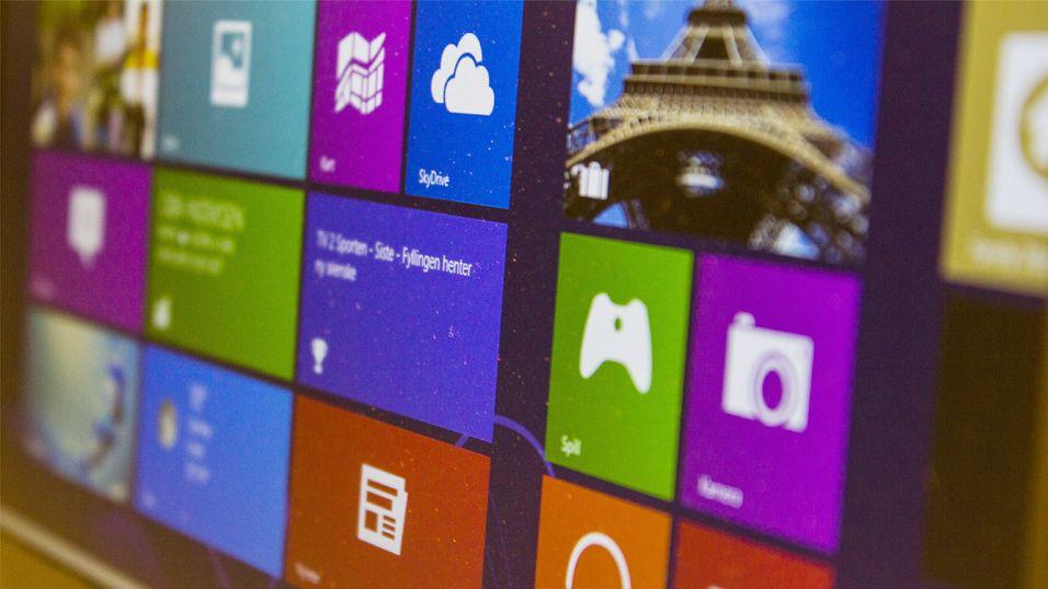 Windows 8 går forbi Vista