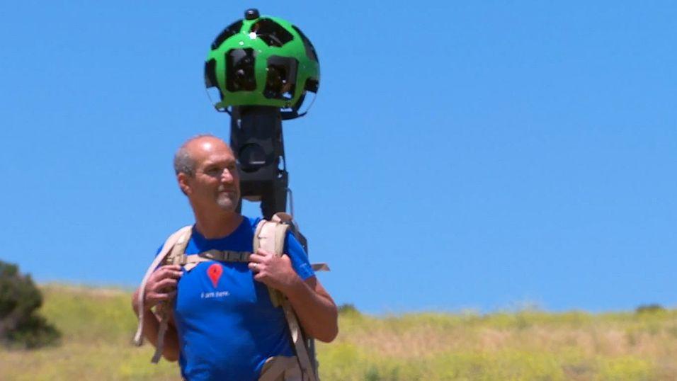 Vil du låne Googles Street View-ryggsekk?