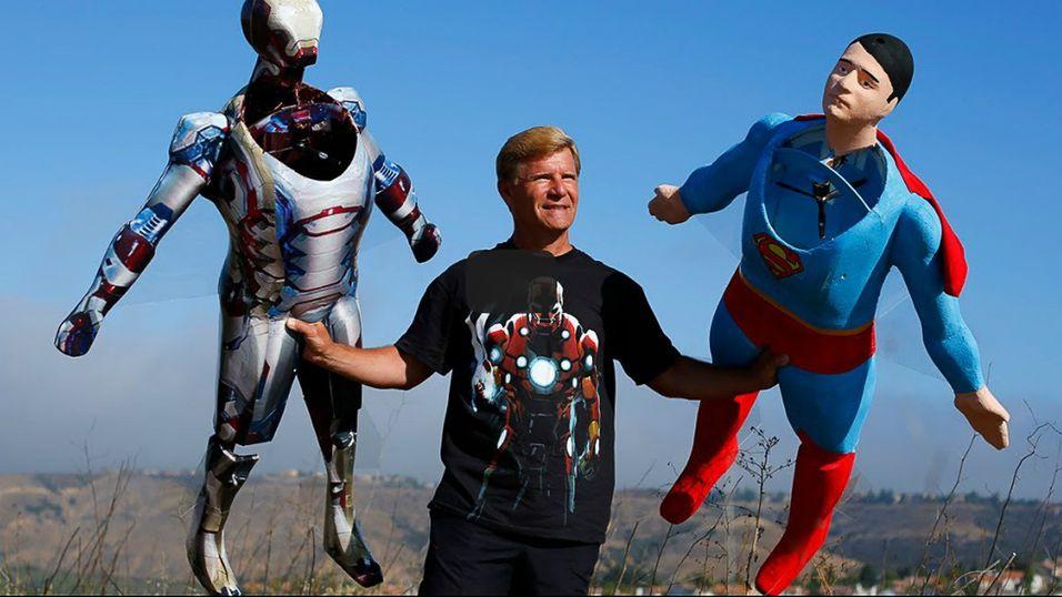 Nå kan du fly Supermann og Iron Man