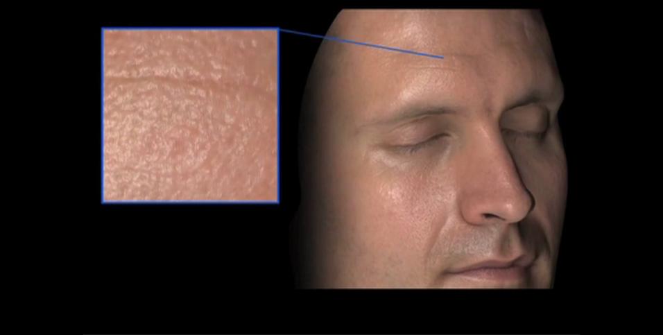 Nå blir dataskapt hud ekstremt realistisk