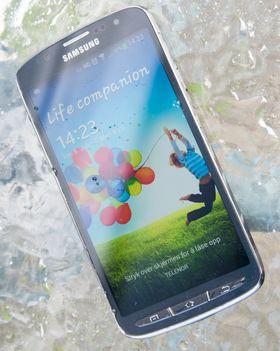 Siden det sitter en lyssterk LCD-skjerm under glasset fungerer Galaxy S4 Active svært godt i sollys.