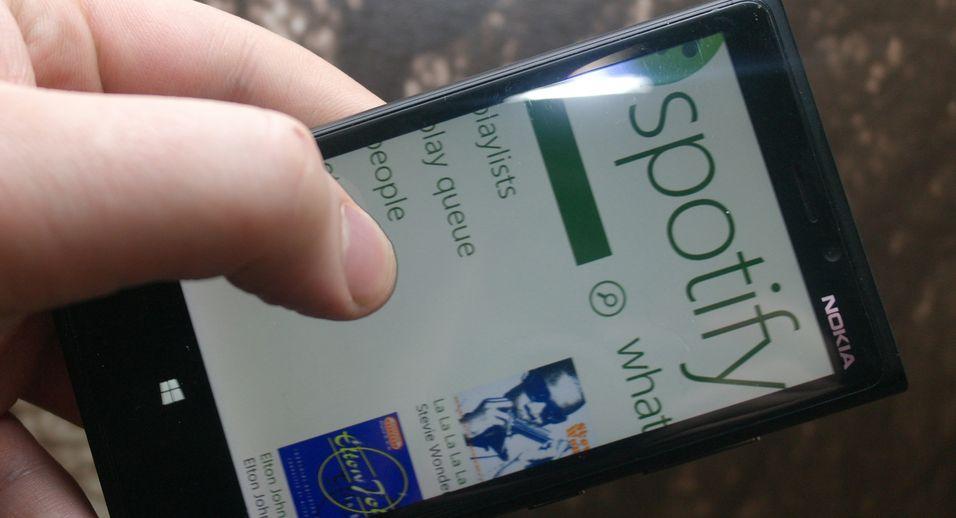 Stor Spotify-oppdatering på Windows Phone 8