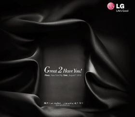 Slik ser LGs invitasjon ut. Legg merke til stor G og stort totall.