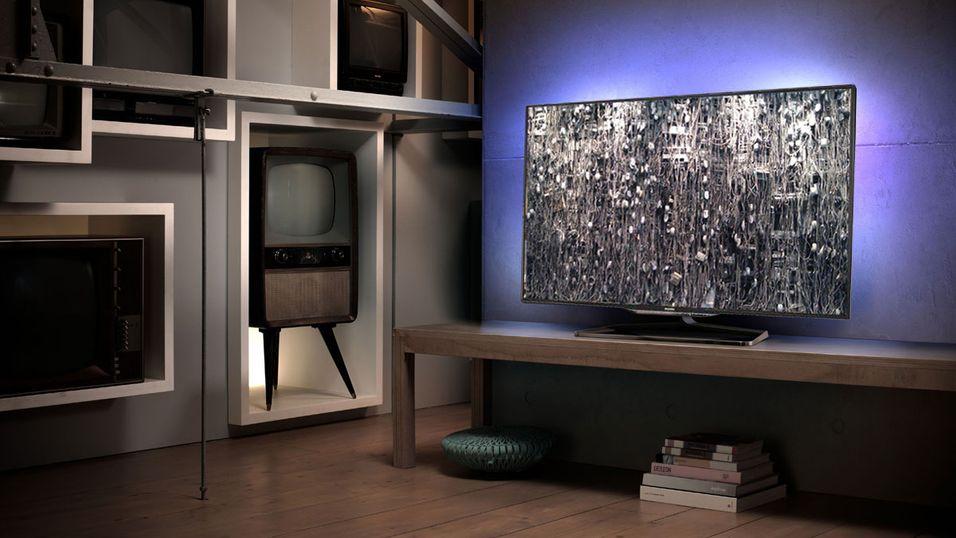 Her erPhilips' første 4KTV