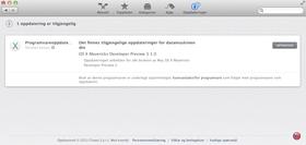Versjon nummer tre av Mavericks ligger klar i App Store.