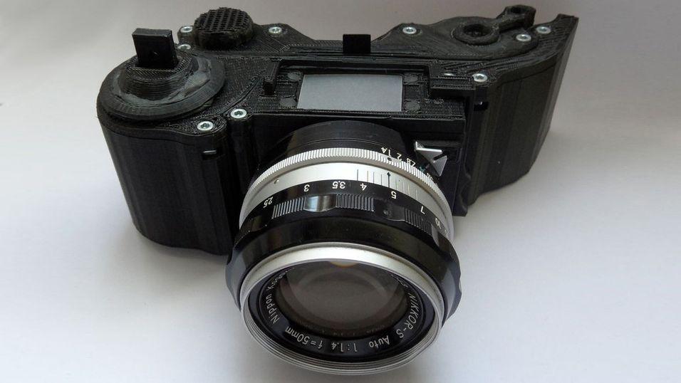 Nå kan du 3D-printe ditt eget kamera