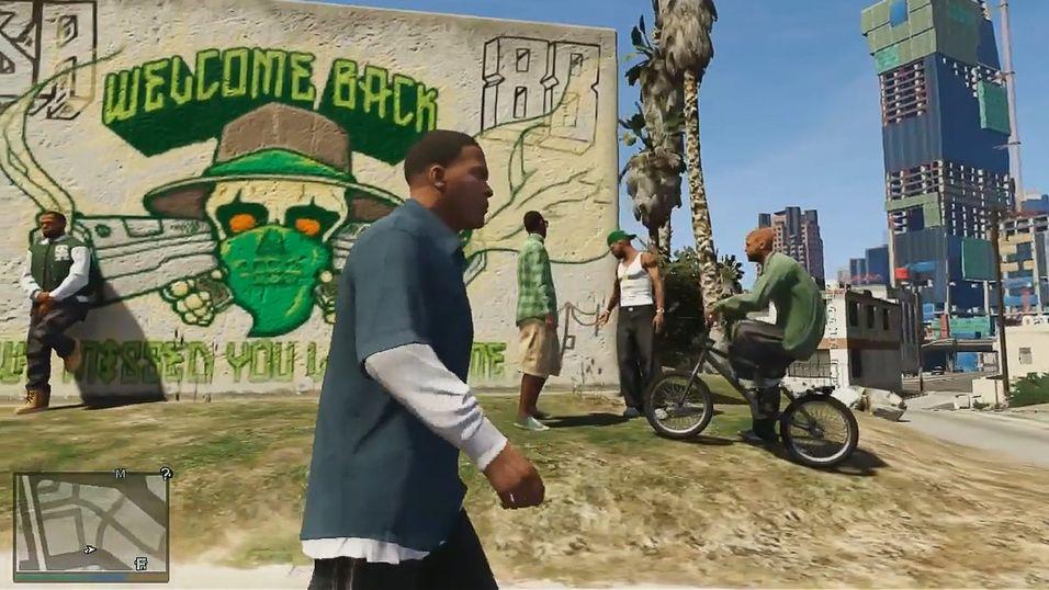 Se gameplayet til GTA V
