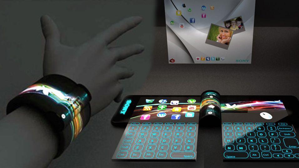 Sjekk ut denne stilige armbånds-PC-en