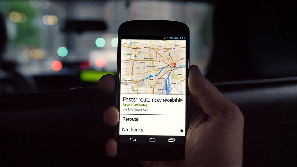 Google Maps får storoppdatering på Android