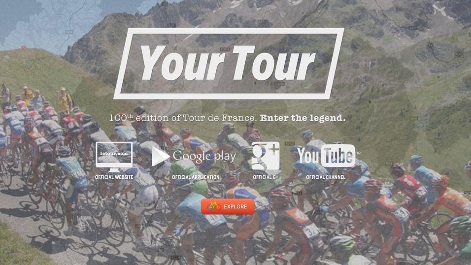 Følg Tour de France i Google Street View