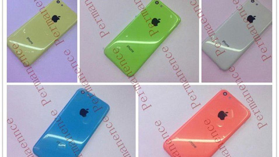 Billig-iPhone i flere farger dukker opp på nett