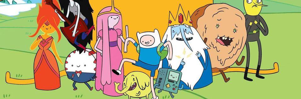 Lag dine eigne spel med Adventure Time