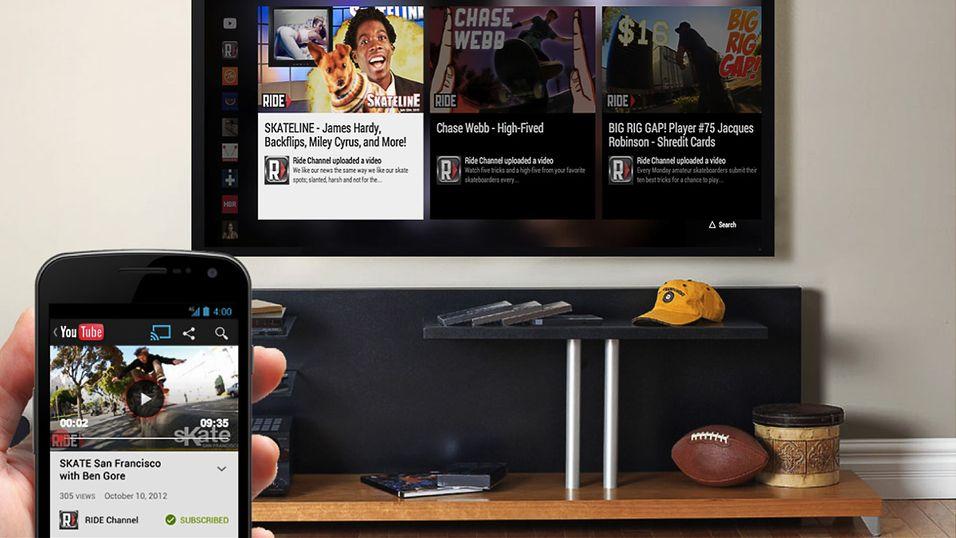 Nå blir det enklere å dele innhold fra mobil til TV