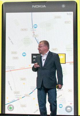 Nokias gratisløsning for navigasjon kalles Nokia Here, og finnes også på Lumia 1020.