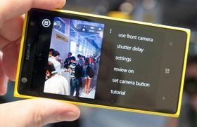 Flere innstillinger i Pro Camera-appen.