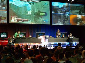 Halo har lenge vært en konkurransesport. Her spilles Reach ved MLG Orlando 2011. (Bilde: Runnen Late, flickr.com).