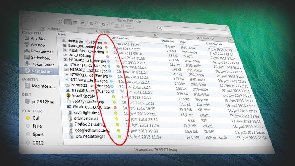 Apple har gitt Finder en velkommen overhaling i OS X Mavericks.