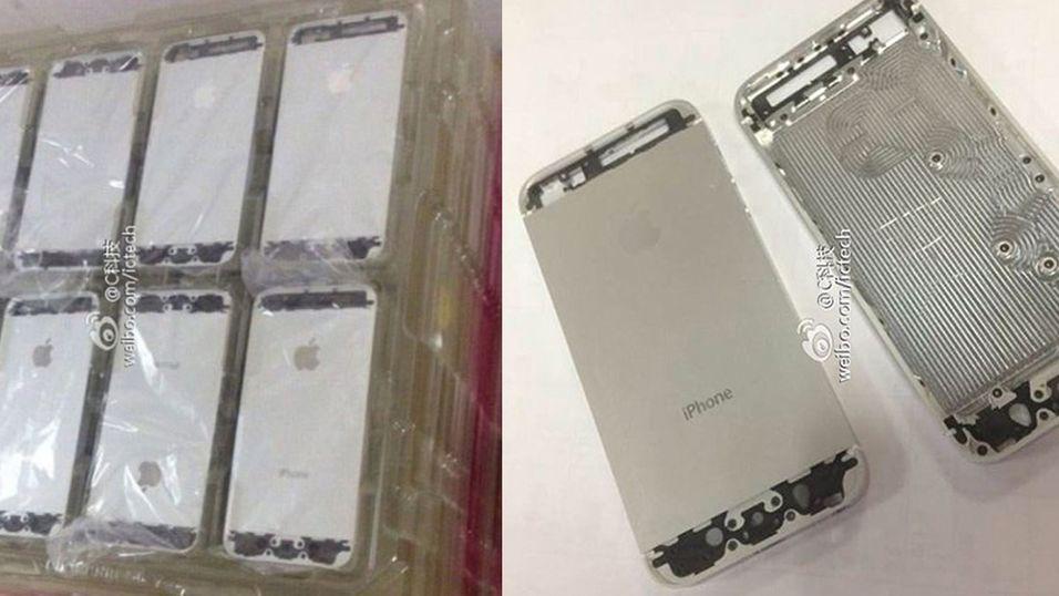 Nye iPhone 5S-lekkasjer på nett
