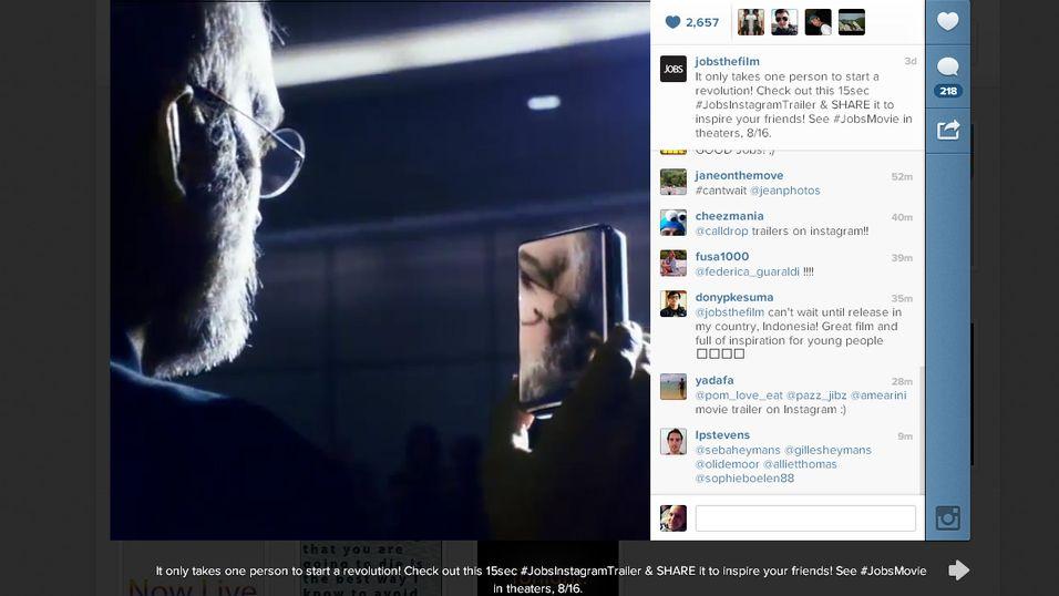 Her er verdens første Instagram-trailer