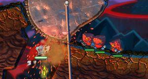 Worms møter LittleBigPlanet