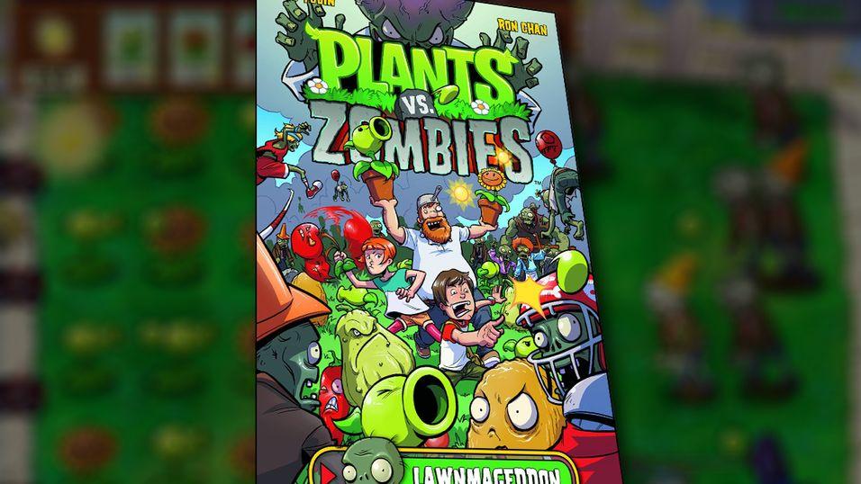 Plants vs Zombies blir tegneserie