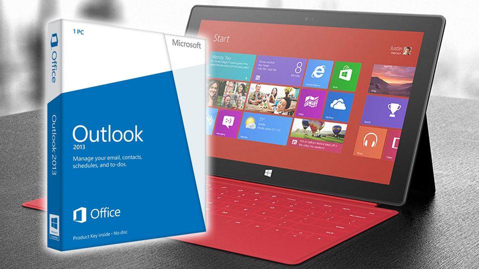 Windows RT får endelig Outlook 2013