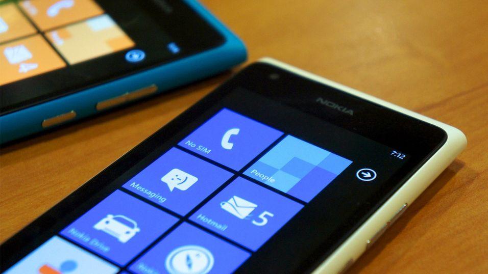 Nokia taper penger
