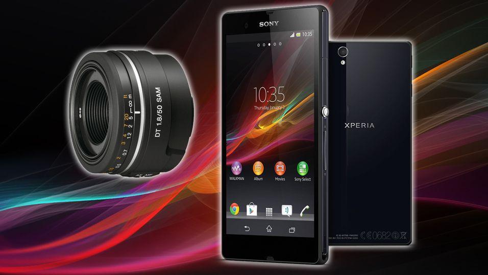 – Sony gir ut objektivkamera for smarttelefoner