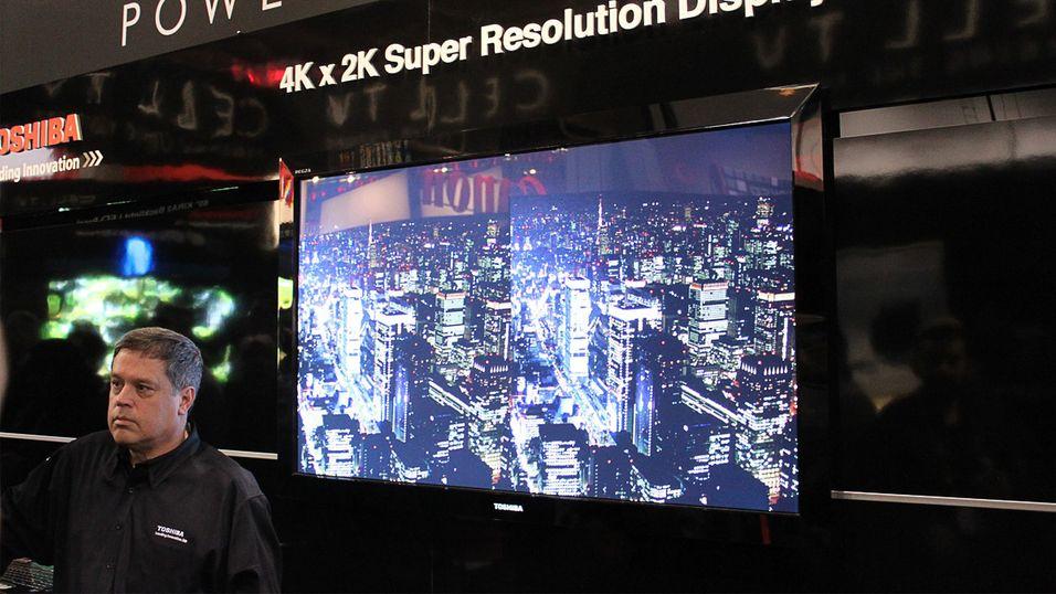 4K får TV-markedet til å vokse igjen