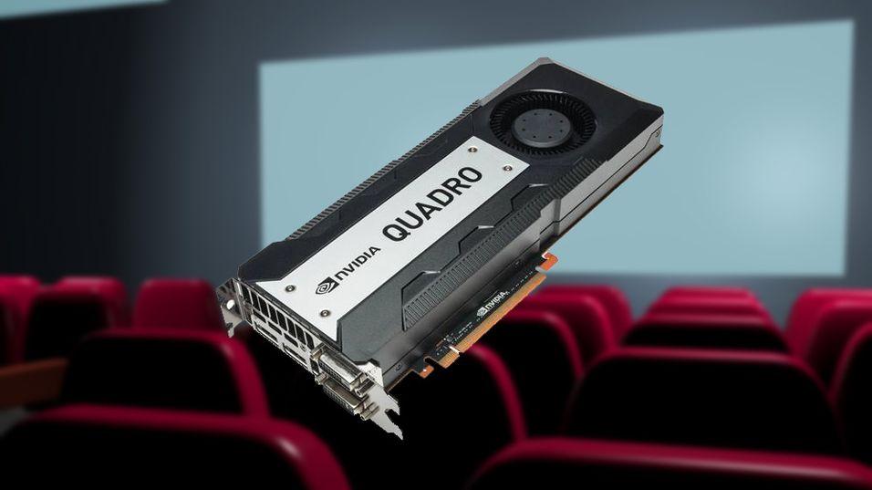 Quadro K6000 kan komme til å bli svært populært blant profesjonelle 3D-animatører.