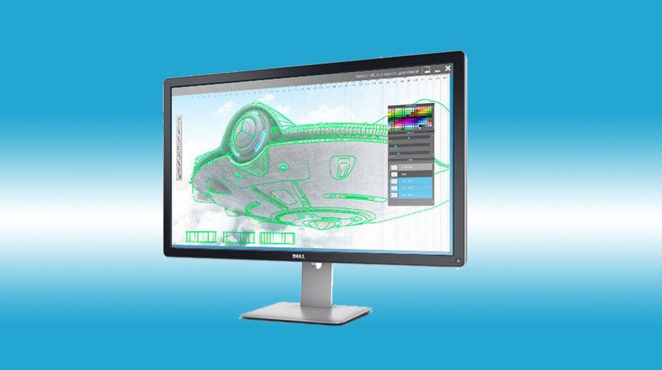Dell har avslørt sin nye, massive 4K-skjerm