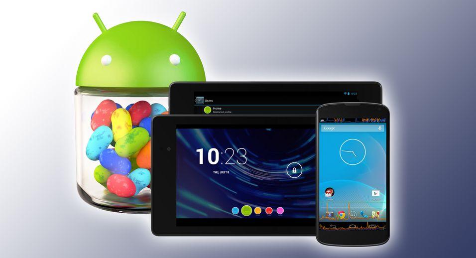 Slik får du Android 4.3 på Nexus-en din