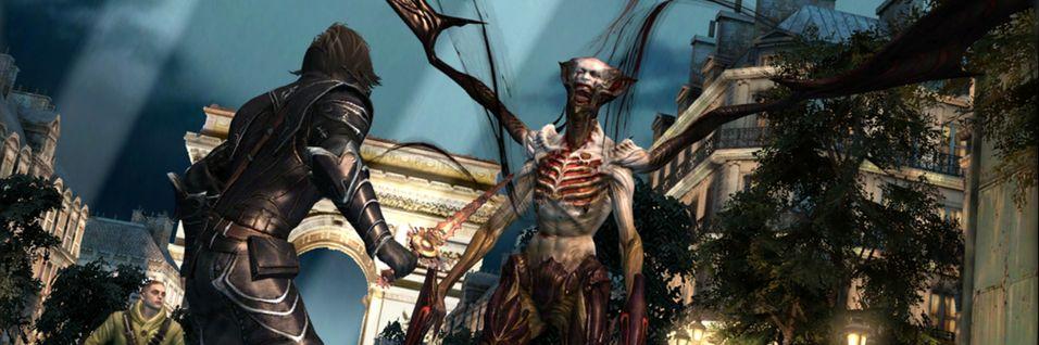 Jakt vampyrar i Bloodmasque