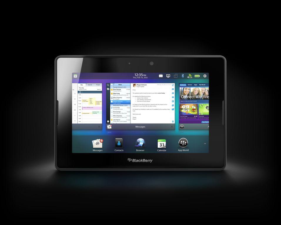 Sjefen for BlackBerrys PlayBook slutter