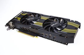 PNY GeForce GTX 770 XLR8 OC-version kommer med gule fartsstriper.