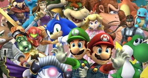 Ingen historie i Super Smash Bros.