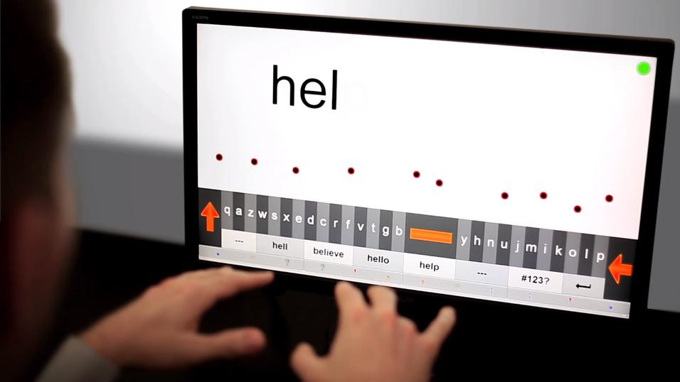 Nå kan du skrive på PC-en i løse luften