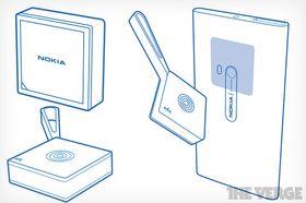 Slik skal Nokia Treasure Tag se ut.