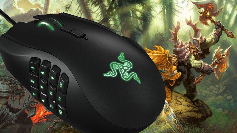 Den nye Naga-spillmusen har enda flere knapper