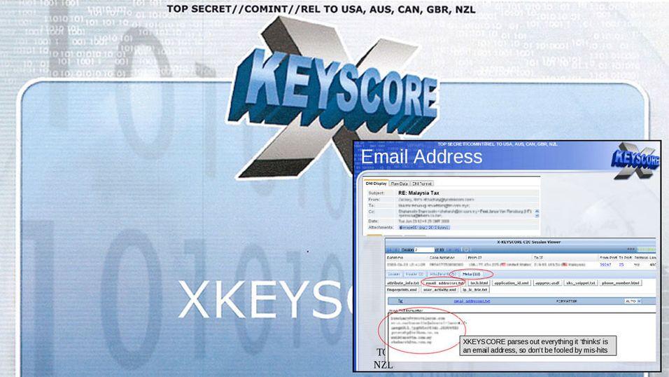 Med XKeyscore kunne NSA spore aktiviteten din både på Facebook, via e-post og mye mer.